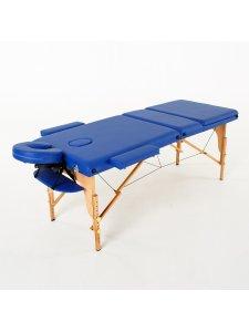 Складной массажный стол Barbados (темно-синий)