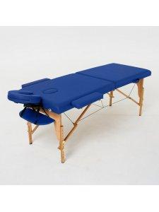 Складной массажный стол Laguna (темно-синий)