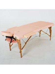 Складной массажный стол Laguna (светло-розовый)