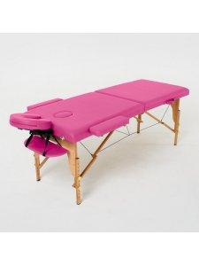 Складной массажный стол Laguna (розовый)