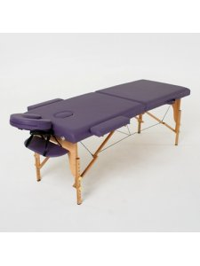 Складной массажный стол Laguna (фиолетовый)