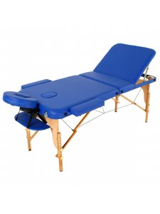 Складной массажный стол Malibu (темно-синий)