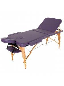 Складной массажный стол Malibu (фиолетовый)