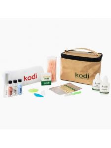 Стартовый набор для биозавивки ресниц в косметичке Kodi