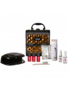 """Набор для покрытия гель-лаком """"Nail Beauty Box"""" (золото)"""