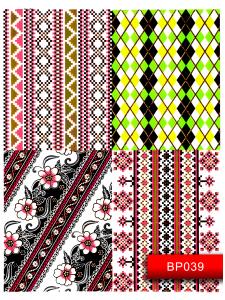 Наклейки для ногтей (стикеры) Nail Art Stickers BP039