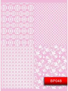 Наклейки для ногтей (стикеры) Nail Art Stickers BP048 White