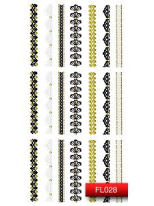 Наклейки для ногтей (стикеры) Nail Art Stickers FL028