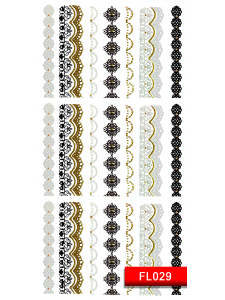 Наклейки для ногтей (стикеры) Nail Art Stickers FL029