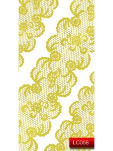 Наклейки для ногтей (стикеры) Nail Art Stickers LC 058 (золото)