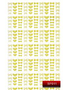 Наклейки для ногтей (стикеры) Nail Art Stickers SP 011 (золото)