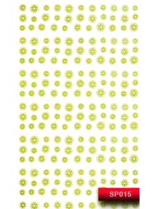 Наклейки для ногтей (стикеры) Nail Art Stickers SP 015 (золото)