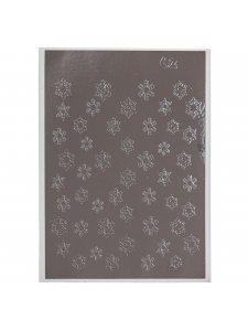 Металлизированная наклейка №62