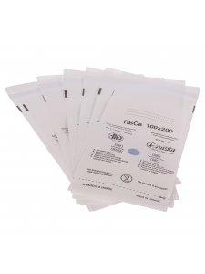 Пакеты самоклеющиеся для паровой и воздушной стерилизации из влагостойкой бумаги 100х200мм (1уп/100шт)