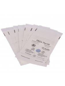 Пакеты самоклеющиеся для паровой и воздушной стерилизации из влагостойкой бумаги 75х150мм (1уп/100шт)