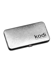 Футляр для пинцетов магнитный Kodi professional, цвет: серебро