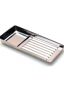 Лоток металлический 195 х 90мм для стерилизации и хранения инструментов