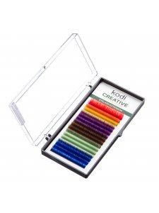 Ресницы цветные B 0.07 (16 рядов: 10 мм) Creative Collection
