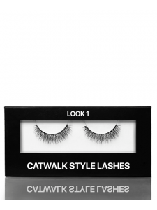 Ресницы на ленте Catwalk style, Look 1