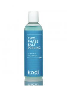 Двухфазный солевой пилинг для тела и рук, 200 мл.
