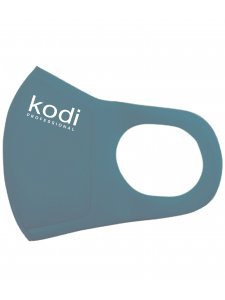 Двухслойная маска из неопрена без клапана, темно-синяя с логотипом Kodi Professional