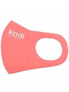 Двухслойная маска из неопрена без клапана, коралловая с логотипом Kodi Professional