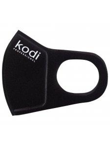 Двухслойная маска из неопрена без клапана,черная с логотипом Kodi Professional
