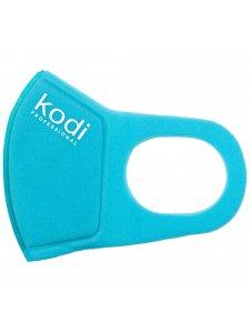 Двухслойная маска из неопрена без клапана, голубая с логотипом Kodi Professional