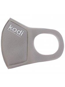 Двухслойная маска из неопрена без клапана, серая с логотипом Kodi Professional