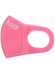 Двухслойная маска из неопрена без клапана, розовая с логотипом Kodi Professional