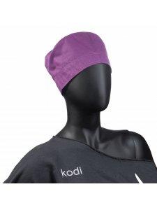 Шапочка женская для мастера фиолетовая (размер: 59)