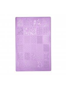 Фото - Пластина для стемпинга К10 (9,5х14,5см) от KODI PROFESSIONAL