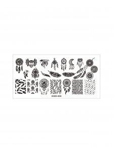 Пластина для стемпинга KODI-005 (металл)