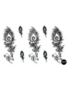 Флэш-тату (временные татуировки-наклейки) Tattoo Style T079