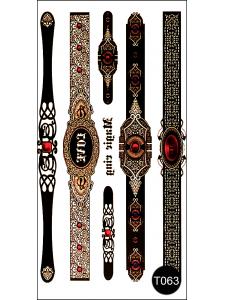 Флэш-тату (временные татуировки-наклейки) Tattoo Style T063