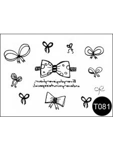 Флэш-тату (временные татуировки-наклейки) Tattoo Style T081
